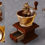 Coffie Grinder Textured